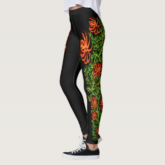 Neon Mums Leggings