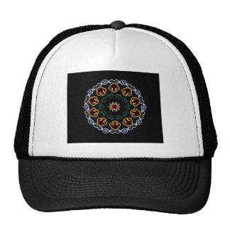 Neon Mushroom Enlightenment Trucker Hat