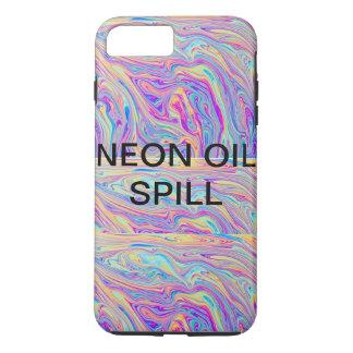 NEON OIL SPILL PHONE CASE