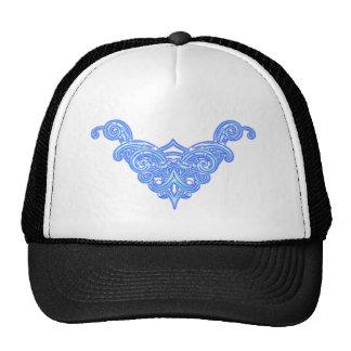 Neon ornamentation trucker hats