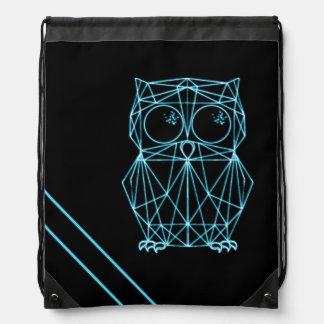 Neon owl turn bag