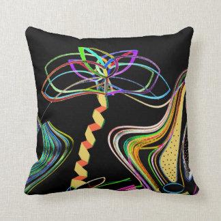 Neon Palm Cushion