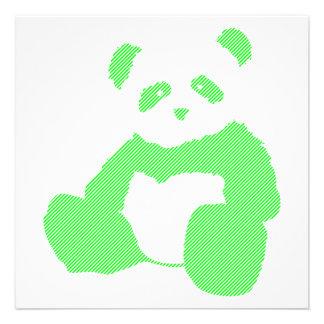 neon panda custom invite