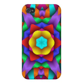 Neon Party Fun Design iPhone 4 Cover