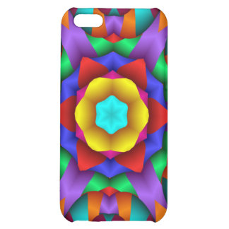 Neon Party Fun Design Case For iPhone 5C
