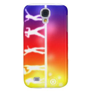 neon party galaxy s4 case