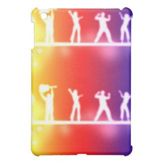 neon party iPad mini case