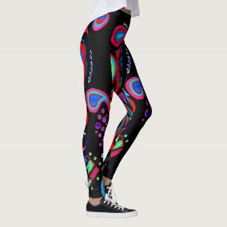 Neon Pattern Leggings