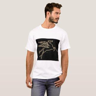 Neon Pegasus Sephia T-Shirt