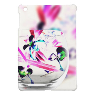 Neon Pink, Blue, Green Contemporary Orchid Design Cover For The iPad Mini