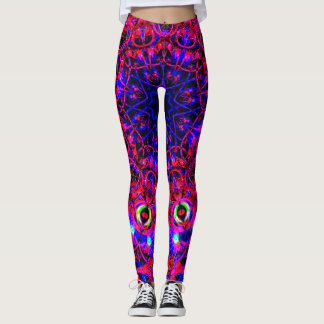Neon Pink&Blue Leggings