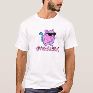 Neon Pink Chinchillin Chinchilla T-Shirt