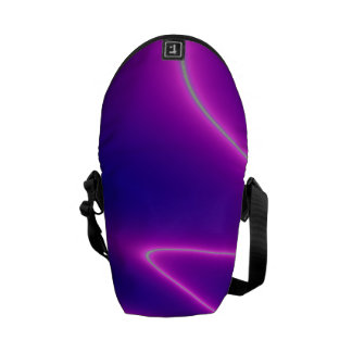 Neon Pink Lightning Commuter Bag