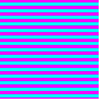 Neon Pink Teal Modern Stripes Pattern Cut Out