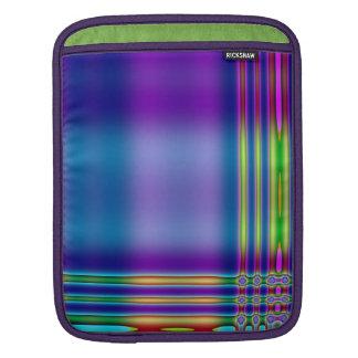 Neon Plaid iPad Sleeve