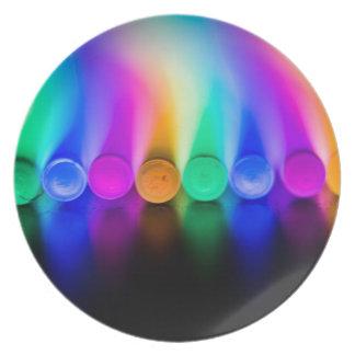 Neon Plate