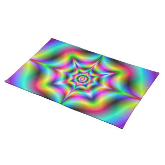 Neon Psychedelia American MoJo Placemats