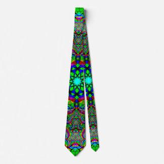 Neon Psychedelic Tie