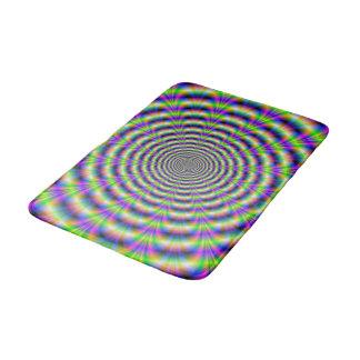 Neon Pulse Bath Mat