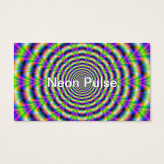Neon Pulse Classic Business Card
