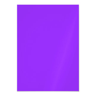 Neon Purple Solid Color Magnetic Invitations