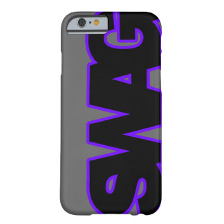 Neon Purple SWAG Barely There iPhone 6 Case
