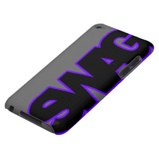 Neon Purple SWAG iPod Touch Covers