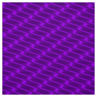 Neon Purple Wavy Lines Fabric Pattern