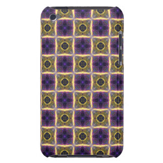 Neon Quilt Pattern Barely There iPod Case