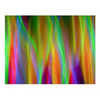 Neon Rainbow - Bright and Cheerful - Postcard