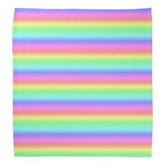 Neon Rainbow  LGBT Head Bandanna