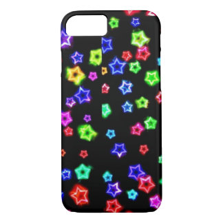Neon Rainbow Stars Cases