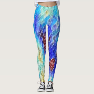 Neon Rave Love Lover Leggings