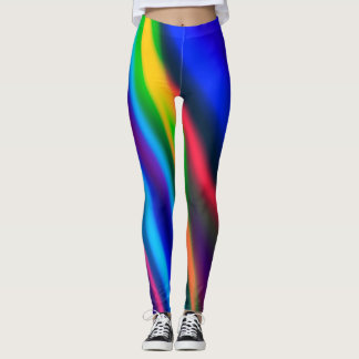 Neon Rays Leggings