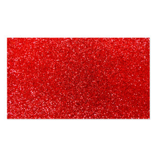Neon red glitter business card templates