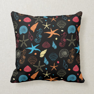 Neon Reef Pillow