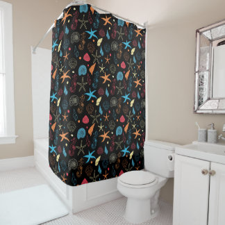 Neon Reef Shower Curtain