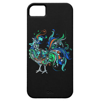 Neon Rooster Barely There iPhone 5 Case