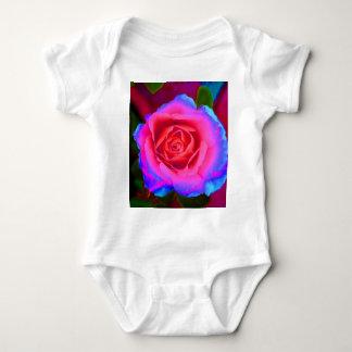 Neon Rose Baby Bodysuit