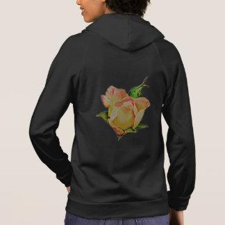 Neon rose hoodie