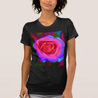 Neon Rose Tee Shirt