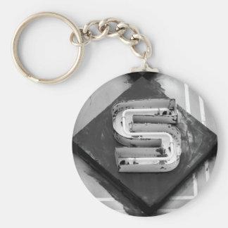 Neon S Keychain