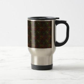 Neon Scribbles Coffee Mugs