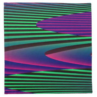 Neon Seas Napkin