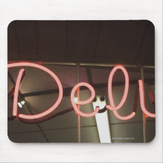 Neon Sign Mouse Pad