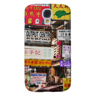 Neon signs in the streets of Hong Kong Galaxy S4 Case