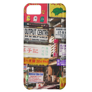 Neon signs in the streets of Hong Kong iPhone 5C Case