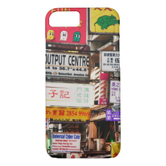 Neon signs in the streets of Hong Kong iPhone 8/7 Case