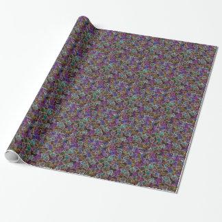 Neon Slash Wrapping Paper