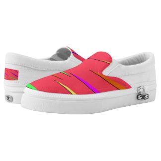 Neon Slip Ons